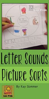 Letter Sounds {picture sorts}