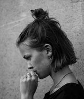 17 coiffures droites pour femmes – cheveux courts, moyens et longs   – Haarpflege