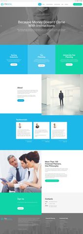 FinVertex Responsive Moto CMS 3 Template That's a smart course of action – g…  – mortgage