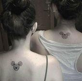 32  Ideas for tattoo small disney best friend   – Tattoo love – #Disney #Friend #Ideas #love #Small