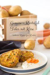 Vegetable Potato Taler – leckeres Rezept für Kinder   – Lieblingszwei * Mama- und Foodblog *
