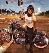 1973 Harley-Davidson Touring #motorchick #motorbike #motorcycle #motortrend