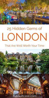 Erstaunliche geheime Orte in London, die die meisten Touristen nie sehen. Tolle Fundstücke aus der Region …