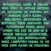 Heuchler – versuchen immer, jemanden niederzuschlagen und schauen sich niemals selbst an … – People Who Insult, Criticize, & Put You Down