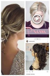 # Prom #Stunning #The #HairstylesFromB # for