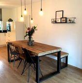60 Farmhouse Dining Room Decorating Ideas Thereu2…