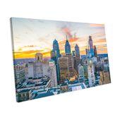 Mercury Row canvas print sunset over Philadelphia | Wayfair.de