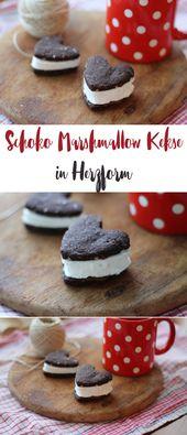 Schoko Marshmallow Kekse – leckeres Plätzchenrezept