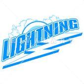 Mascot Clipart Image Of Lightning Bolt Logo Design