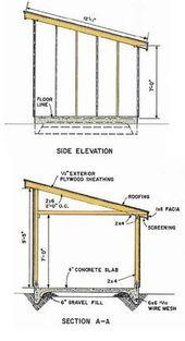 Shed Plans Blueprints 10×12
