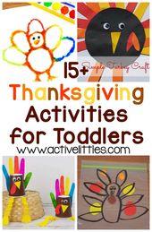 Über 70 Thanksgiving-Aktivitäten für Kleinkinder und Kinder im Vorschulalter – Active Littles – > Active Littles <