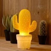 Tischleuchte Cactus von Lucide in rosa Cactus 13513/01/66 LucideLucide