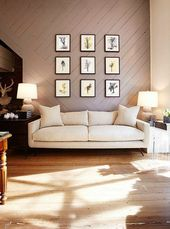 Maddison saved to floorsgallery wall above couch -…