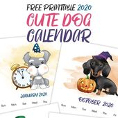 The Best Free Printable 2020 Calendars! – The Cottage Market