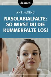 Remove nasolabial fold: these 3 effective methods help! | desired.de