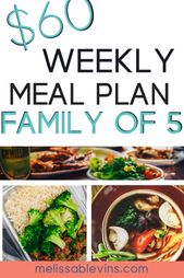 Meal Planning Ideas for Families on a Budget