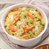 Caçarola rápida de milho e cenoura   – Rezept
