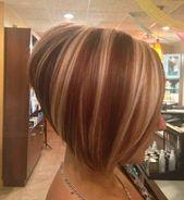 Beste abgewinkelte Bob Frisuren für einen neuen Look Überprüfen Sie … – Damen Haare –  – #Kurzhaarfrisuren – #abgewinkelte #beste #damen