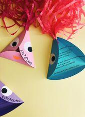 DIY Einladungen für Kindergeburtstag selbst basteln