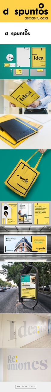 Brand New: New Logo and Identity for dospuntos by Brand Union – created via pint…  – Branding – Simple