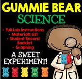 Gummy Bear Science: An Osmosis Experiment with Student Lab Materials!