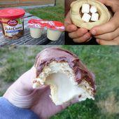 Recette de crème glacée sans sorbetière: crème glacée aux noix aux noix caramélisées   – Süsse Dinge