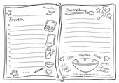 Sketchnote-Template für Dein Keksrezept, Sketchno…