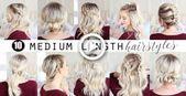 TEN Medium Length Hairstyles!!!