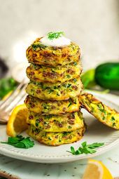 Yes! Crispy Zucchini Fritters make a perfect snack, side or finger food for your…
