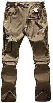 Lutratocro Mens Multi Pockets Cargo Pants Casual Straight Leg Loose Short