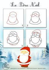 Wie zeichnet man den Weihnachtsmann? – #den #dessi… – #den #dessi #dessin #Man