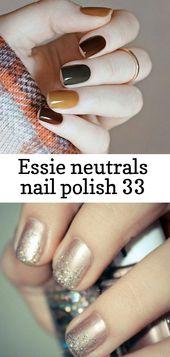 Essie neutrals nail polish 33