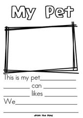 Pet Worksheets Preschool  – pet week