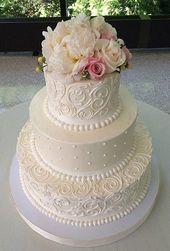 Köstliche Blumenhochzeitstorten für Frühling und Sommer   – wedding cakes