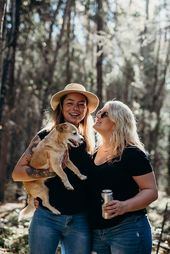 Couples photoshoot with their puppy! Find us on Instagram The Picture & The Poet for more photography content  #couplegoals #lifestylephotography #fam…