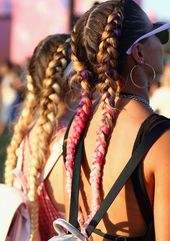 18+ supernatural women hairstyles 2019 Ideas- Double Dutch braid in buns, #simple hairstyle for the summer. #FrauenFrisurenMit …