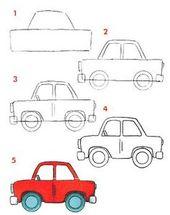 Aprendiendo a dibujar Medios de Transportes