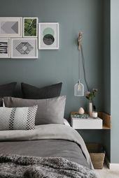 26 great green bedroom ideas – #design # green …