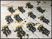 Graduation Party Decorations ~ Dessert Table Decor ~ Graduation Centerpiece Sticks ~ Graduation Party Cupcake Toppers 2019