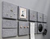 Pinnwand mit Filz – Diy Jewelry Idea   – DIY Jewelry Idea