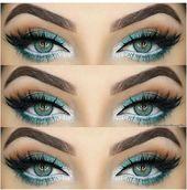 Wie Rock Make-up für grüne Augen & Make-up-Ideen, Tutorials