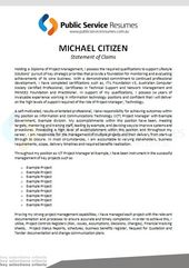 Public Service Resumes Statement Of Claims Example 2 Cover Letter Example Statement Letter Addressing
