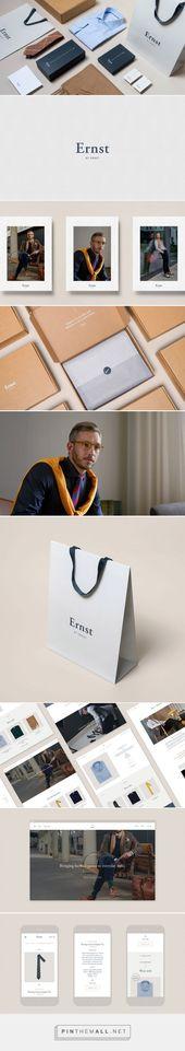 Ernst por Ernst Identity – Mindsparkle Mag … – una imagen de imágenes agrupadas – Pin Th …   – Brand Design