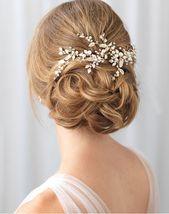 Quinn Floral Vine Hair Clip (TC-2313)