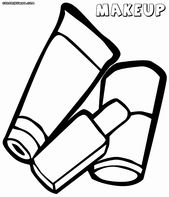 Make A Coloring Page From A Photo New Makeup Coloring Pages