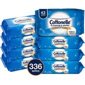 Cottonelle Freshcare Flushable Wipes For Adults Unscented Wet