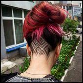 undercut frisuren nacken-gestalten-frauen-rote-haare | Frisuren … | Damen Frisuren