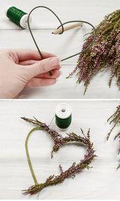 Hochzeitsdeko selber machen – 5 einfache Blumendeko-Ideen für die Hochzeit – Hochzeitskiste
