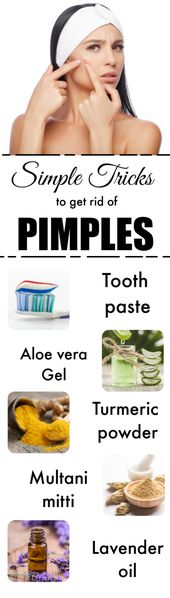 How You Can Easily Get Rid of Pimples Fast Using These Methods – Glowpink