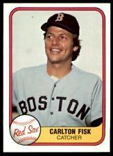 1981 Fleer 224 Carlton Fisk Red Sox Nm Mt 2433 In 2020 Baseball Cards For Sale Carlton Baseball Cards